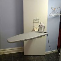 Ironing Boards - LifeStyle Vertical Fold-Away Wall Mounted ...