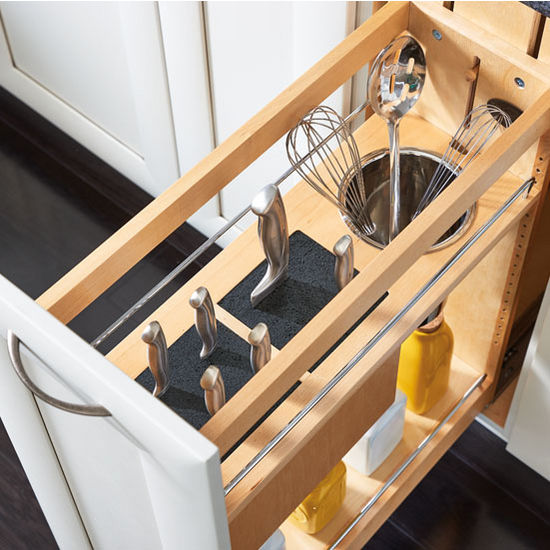 RevAShelf PullOut Knife and Utensil Base Cabinet