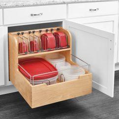 Unfinished Kitchen Base Cabinets Mats Storage, Cabinet Pullout Food Storage ...