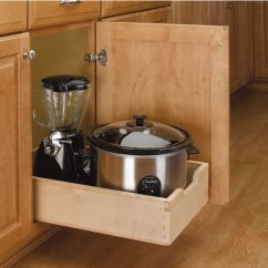 Kitchen Drawer Slides Sears Appliance Package Deals Base Cabinet Wood Pull-out Drawers W/ 3/4 ...
