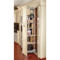 Rev-A-Shelf Pull-Out Pantry with Maple Shelves for Tall ...