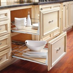 Pull Out Kitchen Cabinet Small Flat Screen Tv For Rev A Shelf Premiere Maple Pullout Basket Base With Free Shipping Kitchensource Com