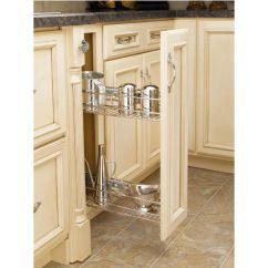 Kitchen Base Cabinets Unfinished Drawer Hardware Side Mount Cabinet Pull-out Organizers By Rev ...