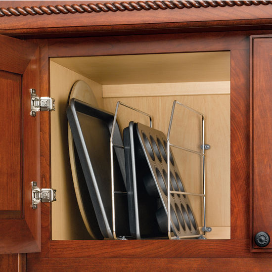 Cabinet Organizers Kitchen Cabinet Wire Tray Dividers With Clips