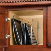 Cabinet Organizers - Kitchen Cabinet Wire Tray Dividers ...