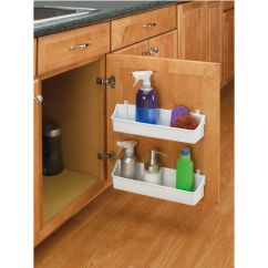 White Hutches For Kitchen Red Cherry Cabinets Rev-a-shelf Cabinet Door Mounting Storage Shelf ...