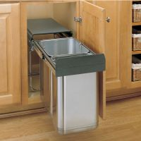 Rev-A-Shelf Stainless Steel Sink Base Pull-Out Waste ...