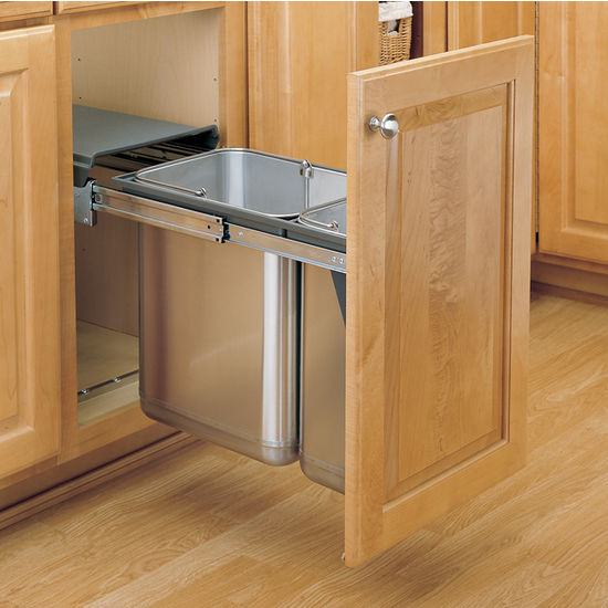 RevAShelf Stainless Steel Sink Base PullOut Waste