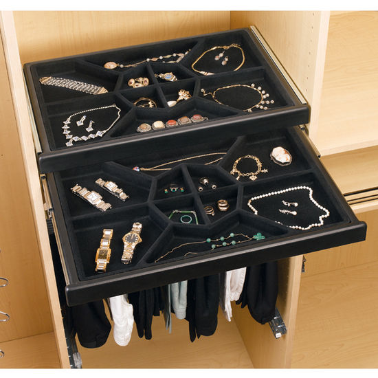 bakers racks for kitchen delta faucet jewelry storage - drawer w/ full-extension slides ...