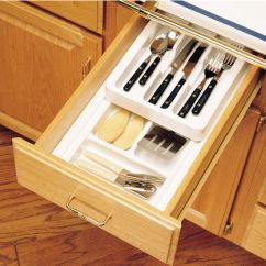 Kitchen Base Cabinets Unfinished Area Rugs For Drawer Organizers - Rev-a-shelf 2-tier Insert Cutlery ...