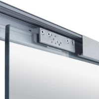Sliding Door Hardware, Covert Series Soft Close Sliding
