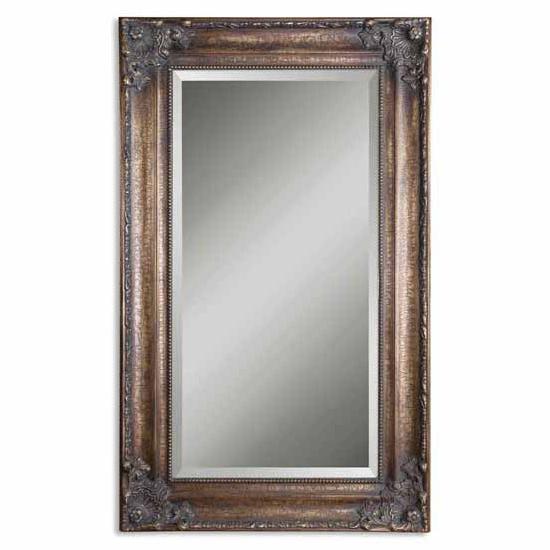 Bathroom Mirrors  Uttermost Bertha Bronze Mirror