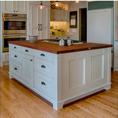 kitchen island tops affordable curtains countertops made of solid wood kitchensource com