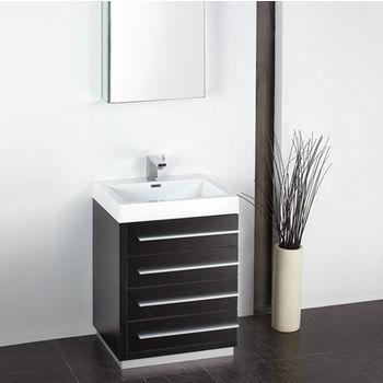 Livello 24 Modern Bathroom Vanity W Medicine Cabinet Set By Fresca Kitchensource Com