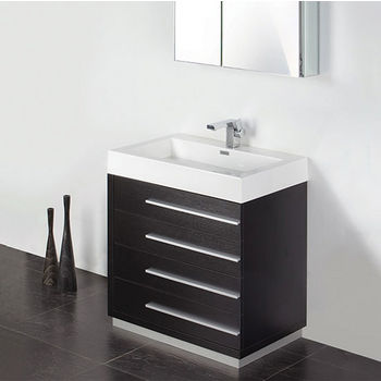 Livello 30 Modern Bathroom Vanity W Medicine Cabinet Set By Fresca Kitchensource Com