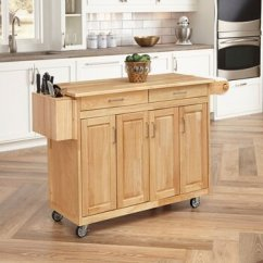 Home Styles Kitchen Cart Renovations Ideas Carts And Islands By Kitchensource Com Natural Finish With Breakfast Bar 54 W X 30 1 4 D 36 H