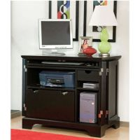 Home Furnishings - Ebony Bedford Compact Office Cabinet by ...