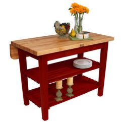 Kitchen Work Tables Condo Remodel Carts Islands And Butcher Blocks With