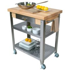 Cart For Kitchen Towel Hooks Decorative Carts Islands Work Tables And Butcher Blocks With