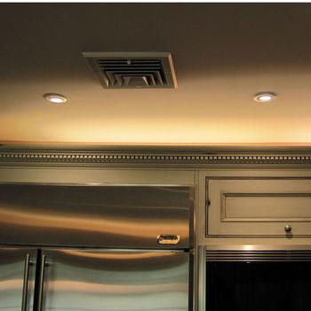 kitchen cabinets overhead lighting