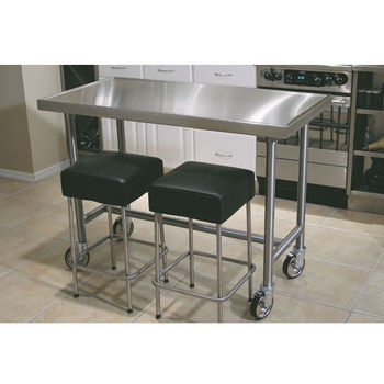 metal kitchen island shelves ideas carts islands work tables and butcher blocks with advance tabco