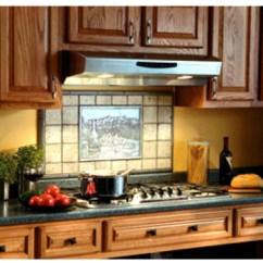 Kitchen Island Hood Brushed Nickel Faucet Range Hoods Shop Ventilation Products Under Cabinet