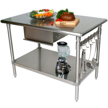 metal kitchen island reclaimed wood table carts islands work tables and butcher blocks with stainless steel