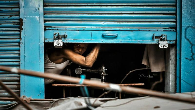 Street Photography: Different mood from the Street of Munger