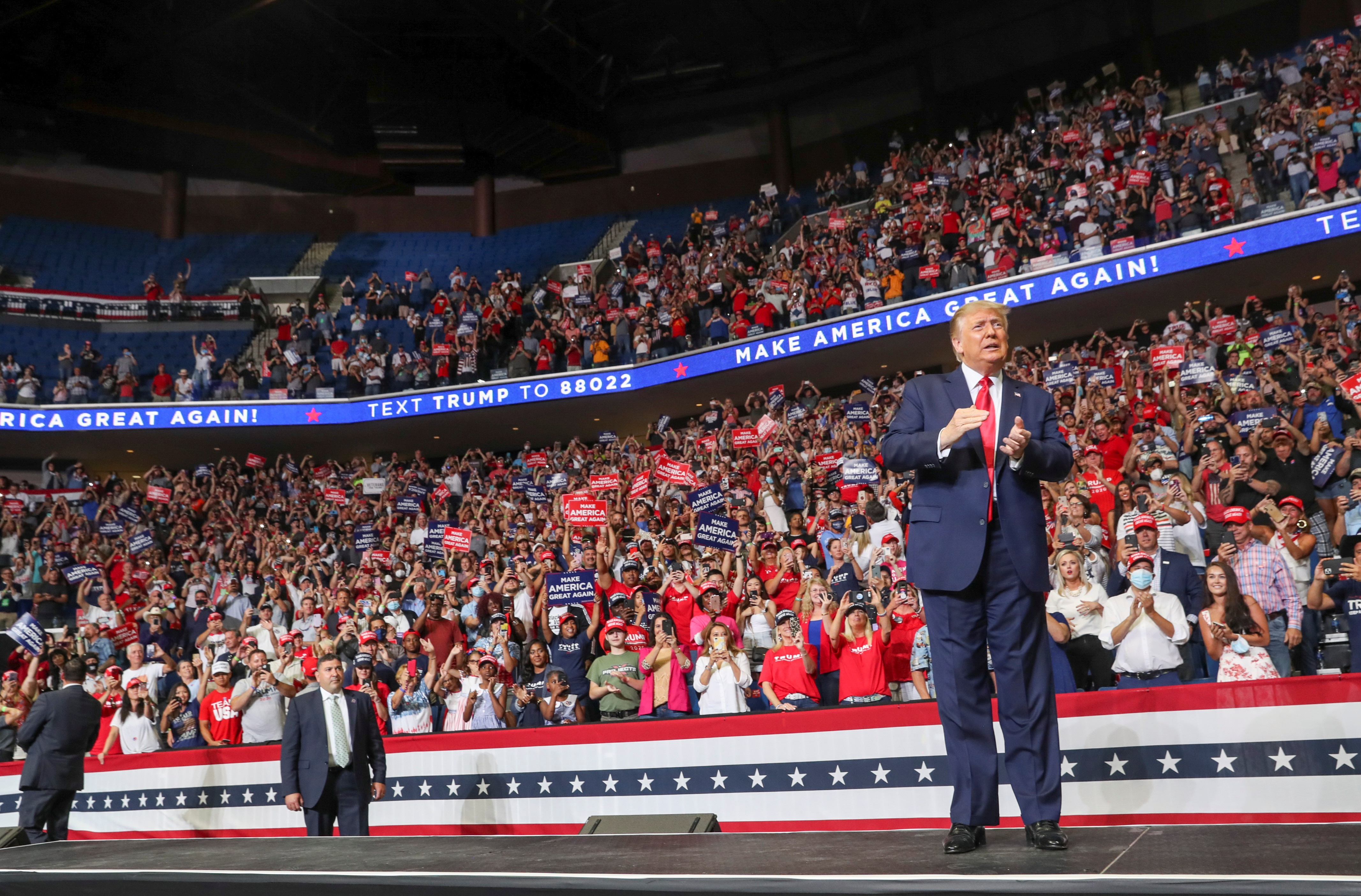 President Trump Seeks 2nd Term, After Overcoming Impeachment