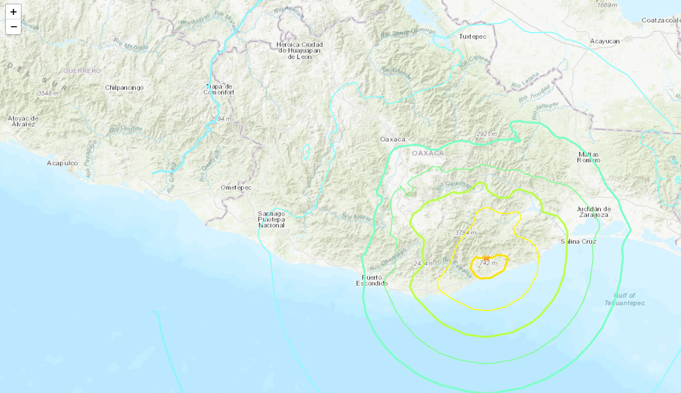 Powerful Earthquake Shake Southern, Central Mexico