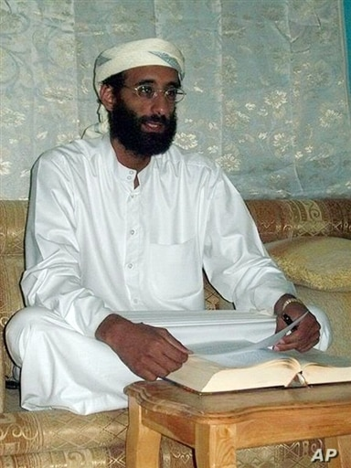 This SITE Intelligence Group handout photo obtained November 10, 2009 shows Anwar al-Awlaki, a former US resident living in Yemen and accused al-Qaeda supporter