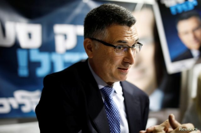 Gideon Saar, a popular Likud party member and a challenger to Israeli Prime Minister Benjamin Netanyahu in Likud party…