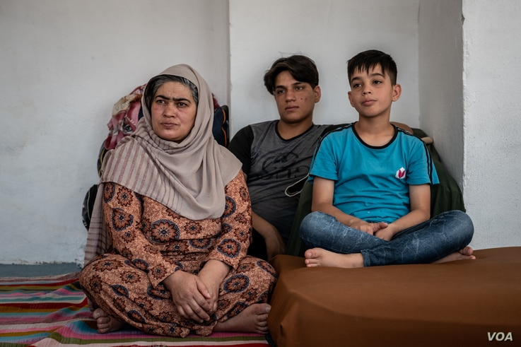 Nafisa Alwozai came of age during Taliban rule in the 1990s. She does not believe the next generation of fighters will ultimately be more moderate than the last on April 13, 2021 in Van, Turkey. (Claire Thomas/VOA)