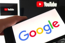 Photo by: STRF/STAR MAX/IPx 2021 2/3/21 Google stock price soars on strong earnings from YouTube Ad revenue. STAR MAX Photo:…