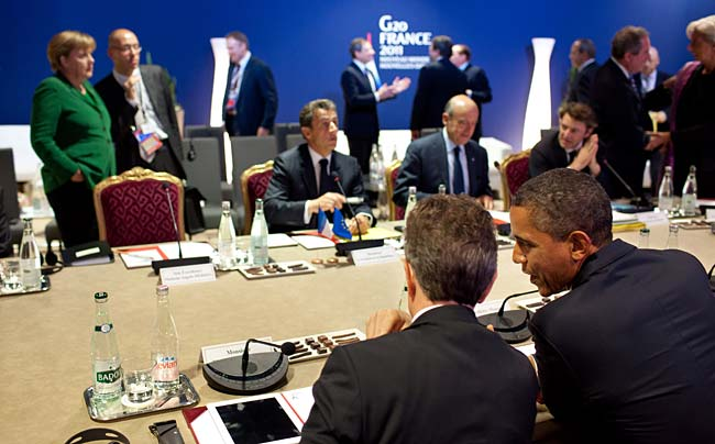 US intervention: European leaders expressed surprise that Barack Obama was so engaged in the eurozone crisis