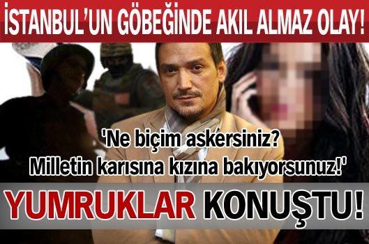 İstanbul'un göbeğinde akıl almaz olay!