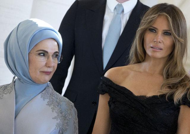 'First Lady'ler buluşmasında tek istisna!