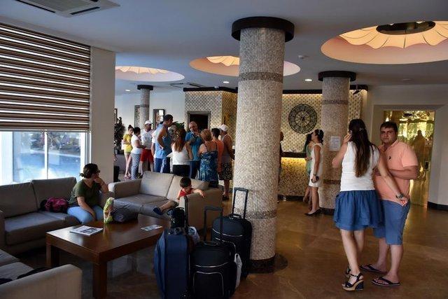 Marmaris'te aynı odanın 50 aile için rezervasyon yaptırıldığı ortaya çıktı
