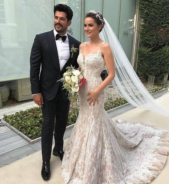 Fahriye Evcen ve Burak Özçivit'in düğünü