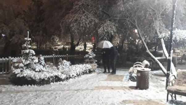 Ankara kar yağışı