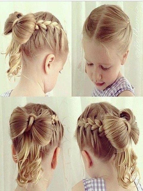 İşte kız çocukları için saç modelleri...