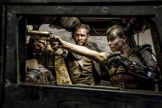 Mad Max-Fury Road'da Tom Hardy ve Chralize Theron başrolleri paylaşmıştı.