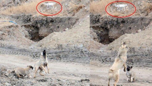 'Çamur'un drone ile savaşı