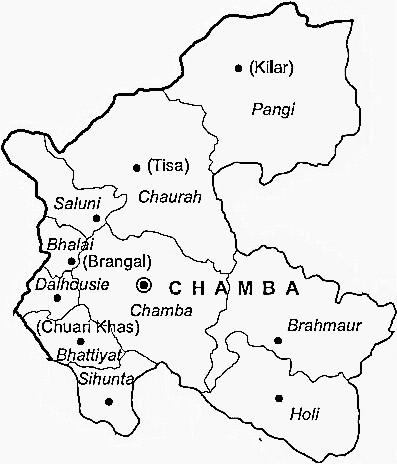Administration in Chamba, Municipal Council in Chamba