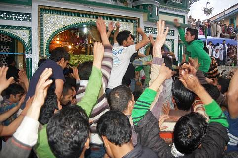 Celebrations at Aishmuqam Shrine