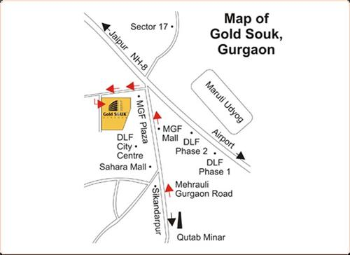 Gold Souk Mall in Gurugram, Gold Shops in Gold Souk Gurugram