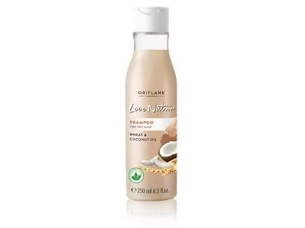 Love Nature Oriflame Shampoo For Dry Hair With Wheat & Coconut Milk 250Ml.jpg