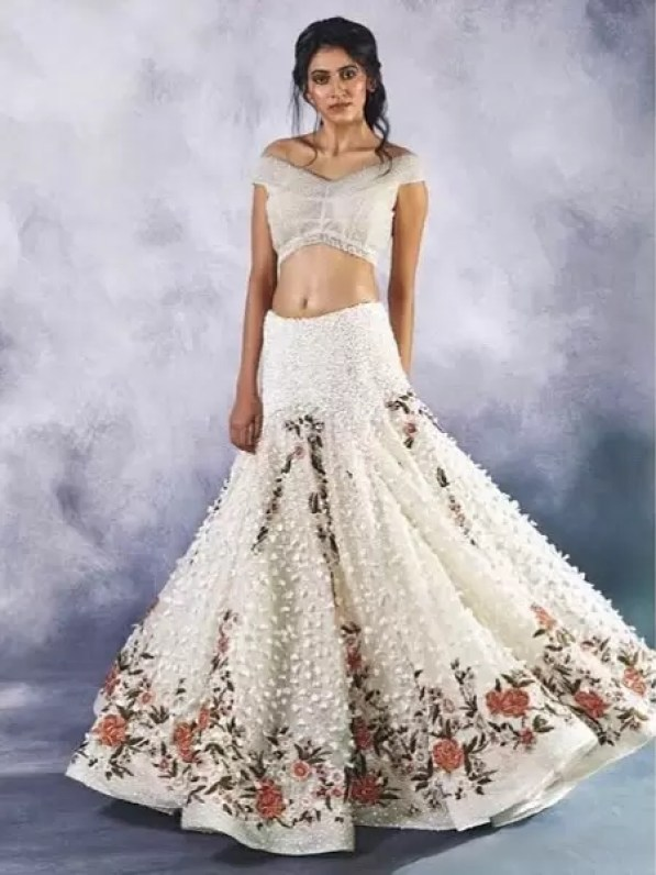 Image result for lehenga trends 2020