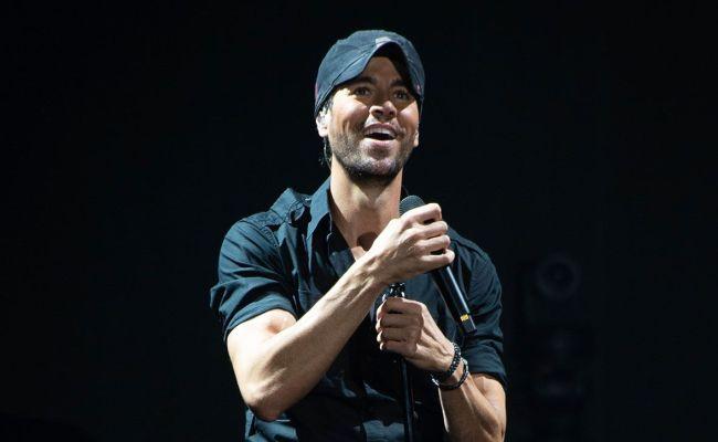 Enrique Iglesias Sharing A Throwback Video Enrique