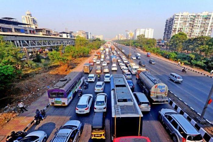 Mumbai, traffic, congestion, pollution, New Delhi, Maharashtra, Narrow space